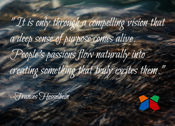 Frances Hesselbein leadership quote