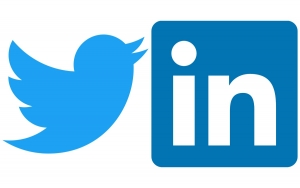 twitter and linkedin for job search