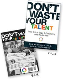 don't waste your talent book