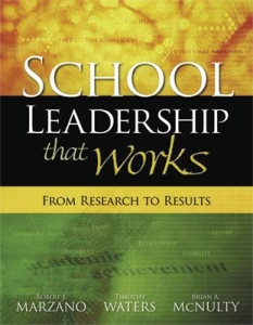 research to results school leadership book