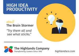 idea productivity continuum abilities