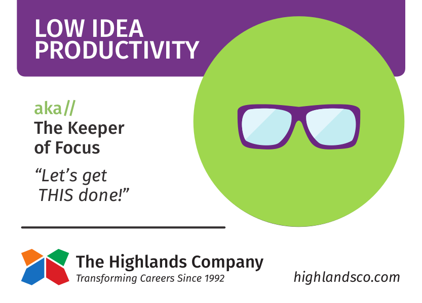 idea productivity natural ability