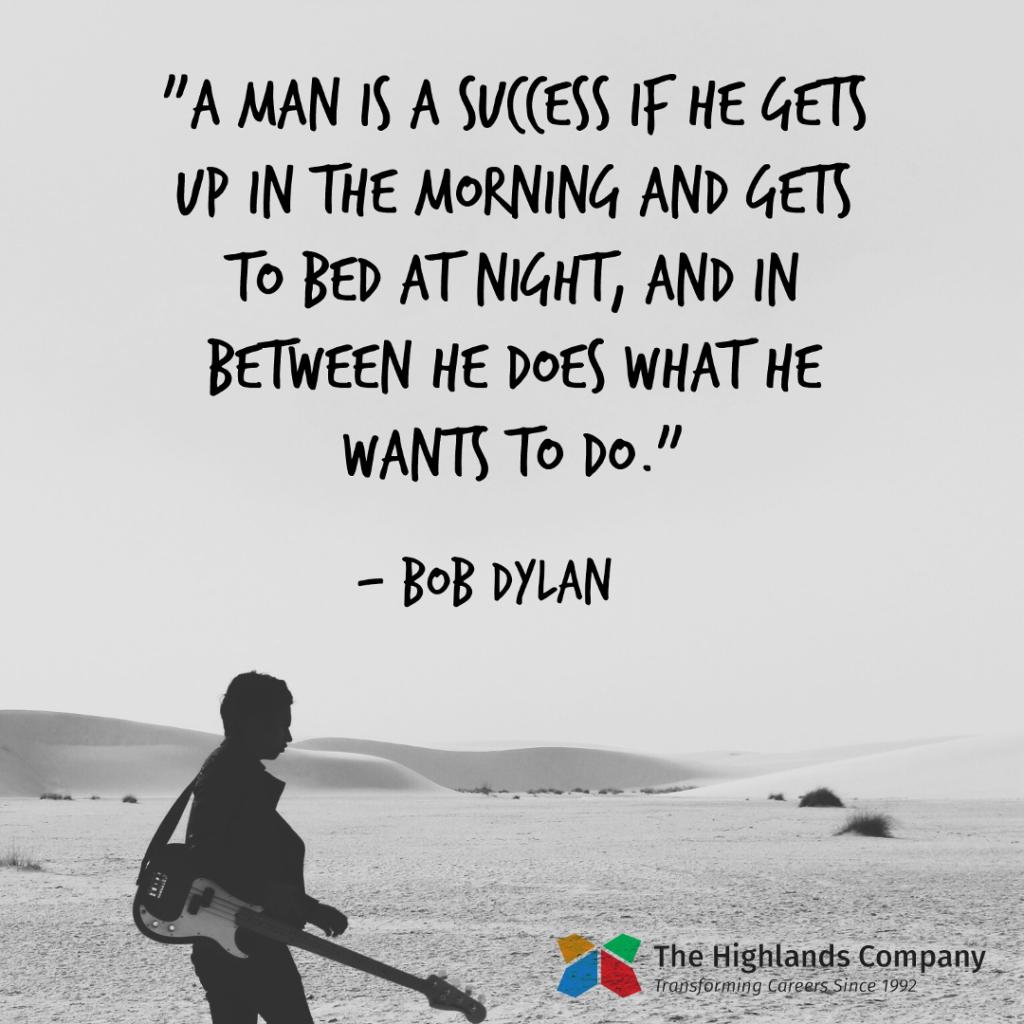 bob dylan career sayings